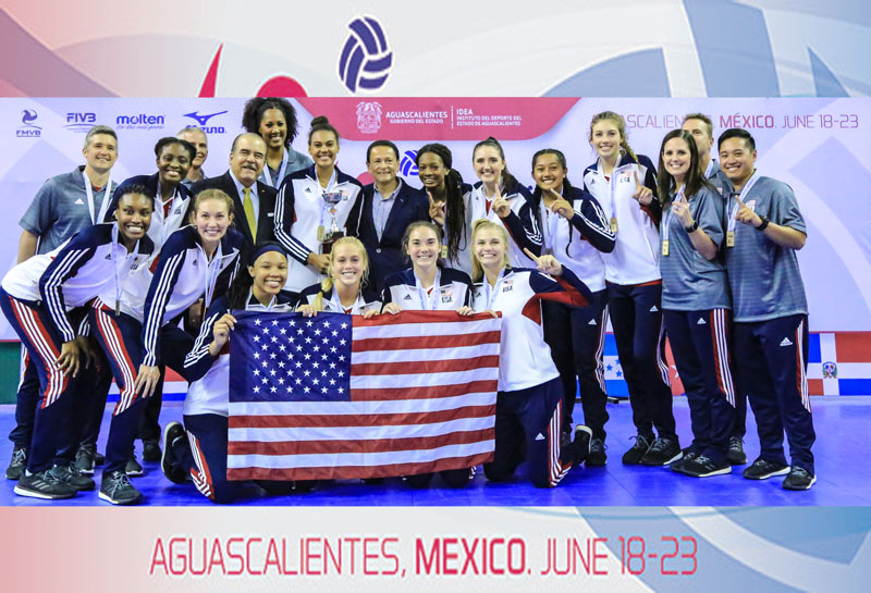 U20 NORCECA Women's Championship: USA Downs Dominican Republic for Gold