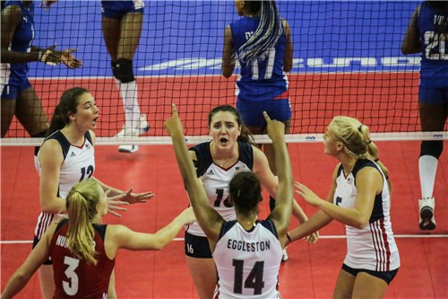 U20 NORCECA Women's Championship: USA, Dominican Republic win Pools