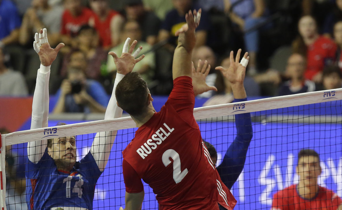 USA Blasts Serbia in #VNL Home Opener