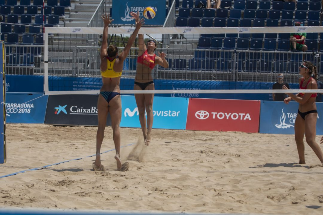 Results From 1st Day Of Beach Volleyball At The Mediterranean Games