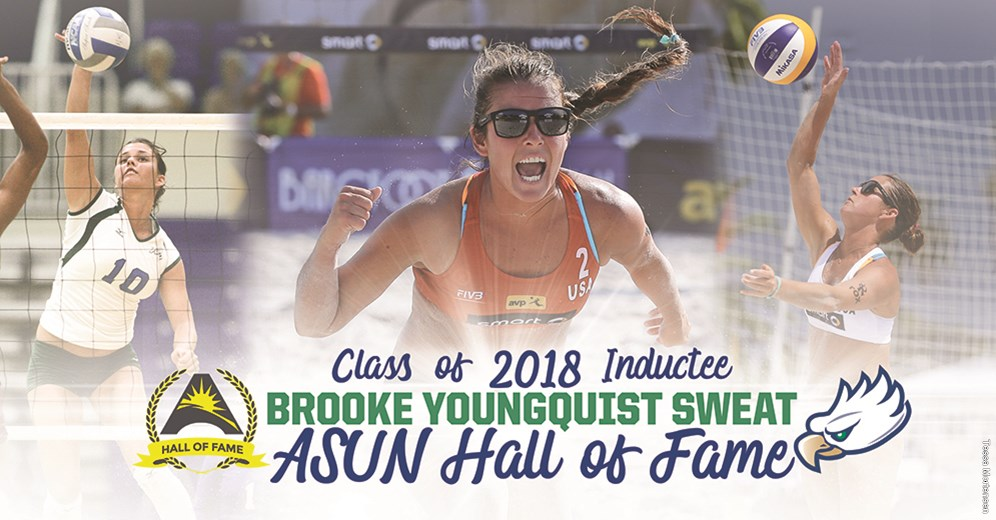 FGCU Volleyball's Youngquist Sweat Named to ASUN Hall of Fame
