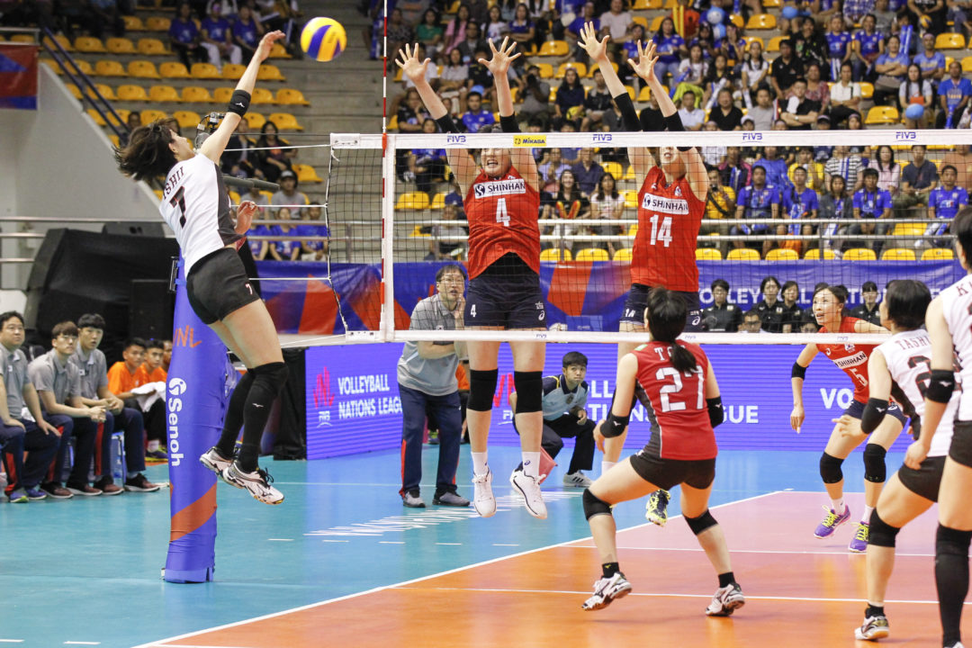 Japan Snaps Three-Match Skid, Turkey Stays Among #VNL Top 5
