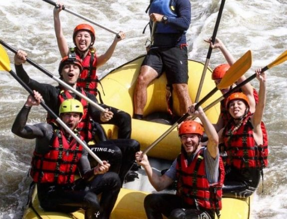 Bulgarian NT Members Stankov, Dimitrov Went Rafting During VNL Week 2