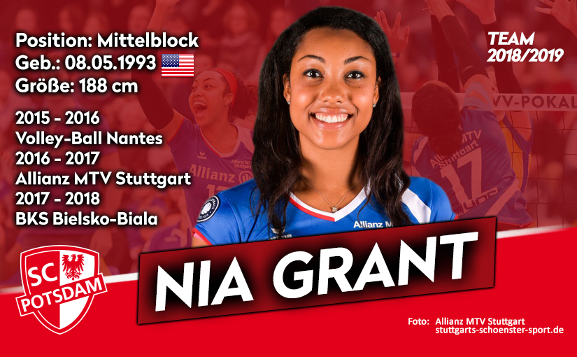 Former Penn State Star Nia Grant Signs With Germany's SC Potsdam