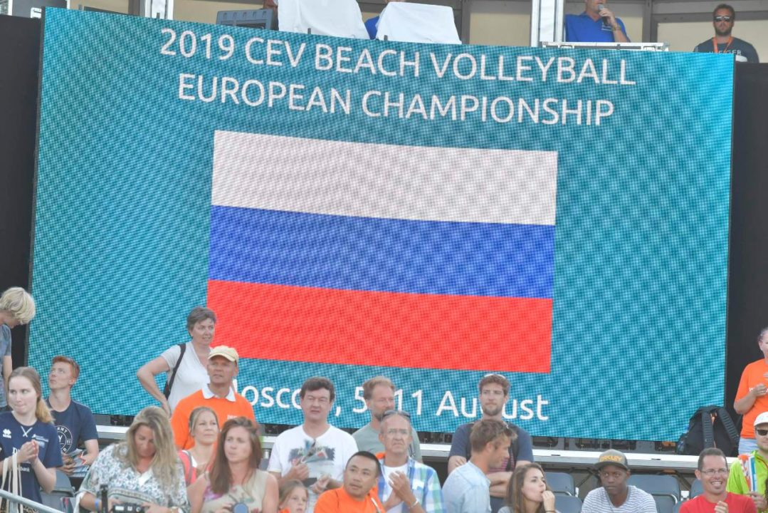 2019 #EuroBeachVolley To Be Hosted In Moscow, Russia