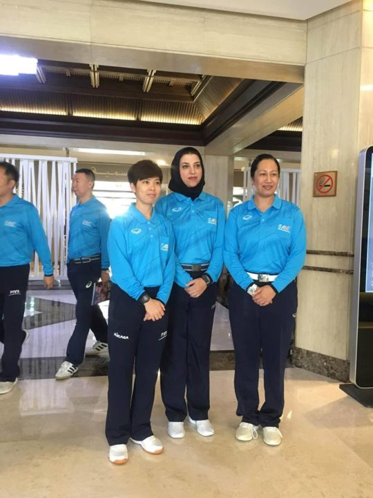 Iran Sends Female Referee to Asian U20 Men's Volleyball Championships