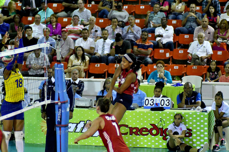 NORCECA Women's Pan American Cup: USA & D.R. Advance to the Semis