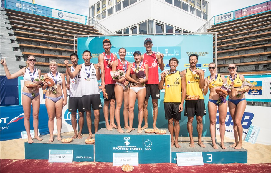 China Sweeps Anapa Men's Podium, Russia Takes Women's Medals