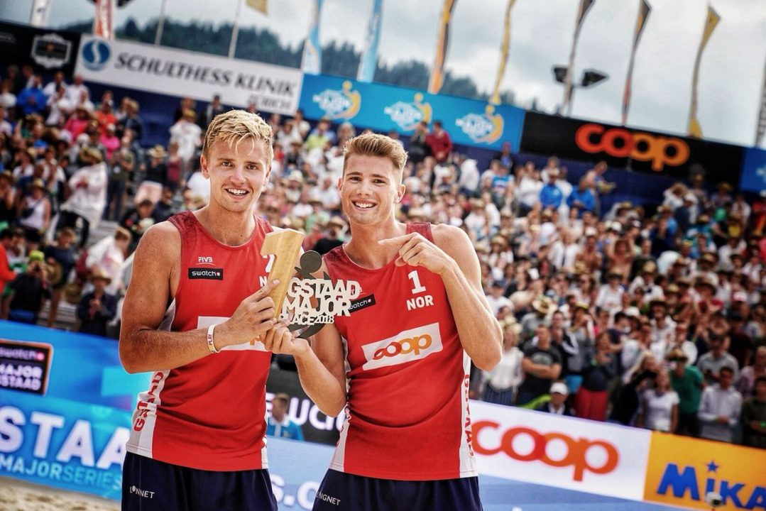 Mol/Sorum Win Gstaad Gold, Norway's First FIVB Tour Title Since 1998