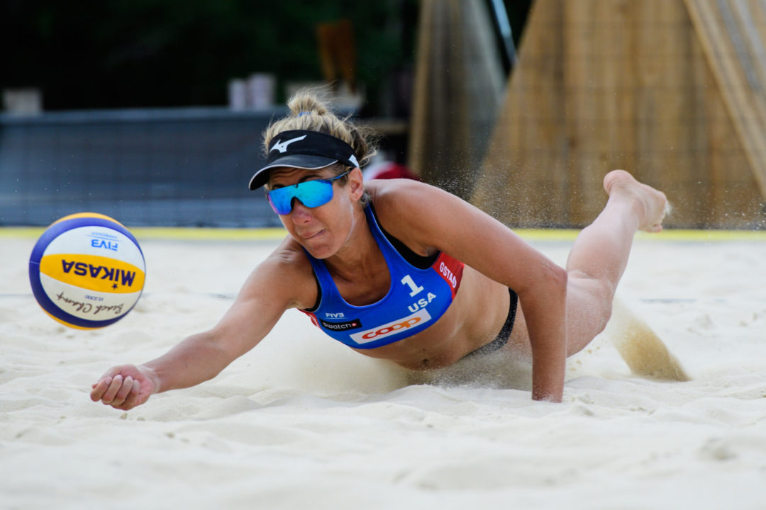Top Five Seeds, Klineman/Ross, Larsen/Stockman Win Gstaad Pool Titles