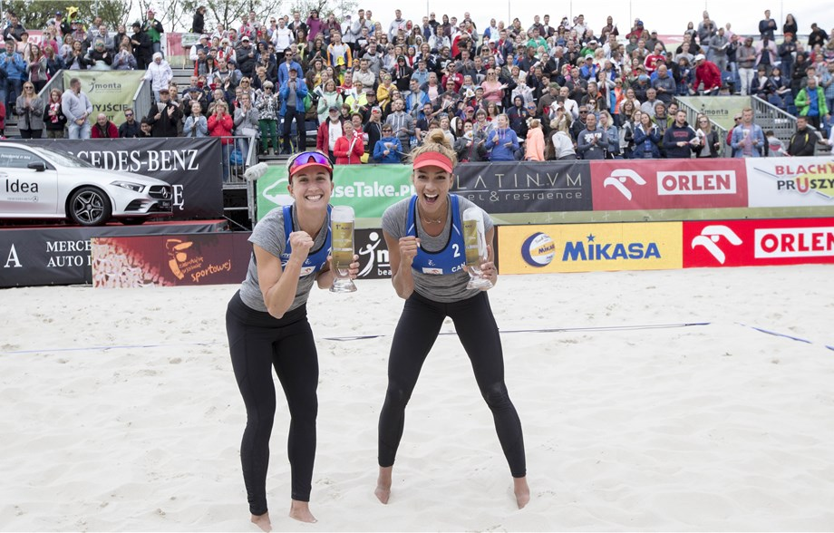 Canadians Bansley/Wilkerson, Poland's Kantor/Losiak Take Warsaw Gold