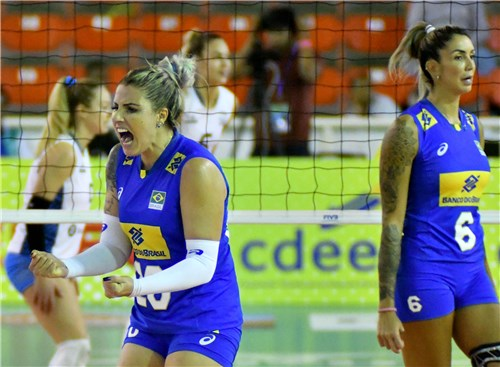 Brazil Edges Argentina in 5 to Earn Pan Am Semis Berth; Columbia Wins