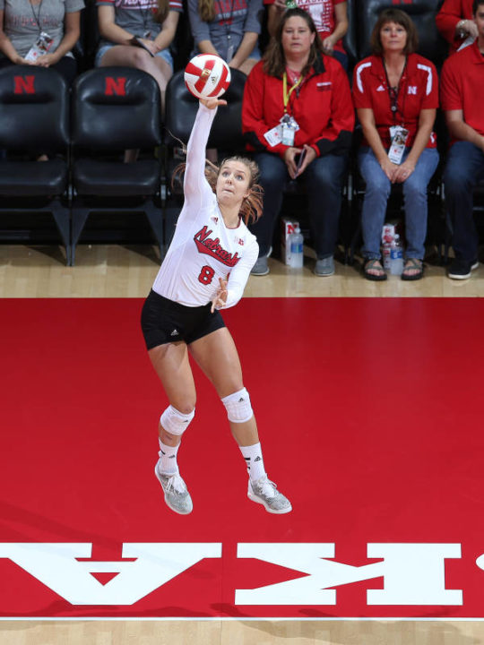 Brooke Smith Returns to the Court for Nebraska in Sweep of Iowa State