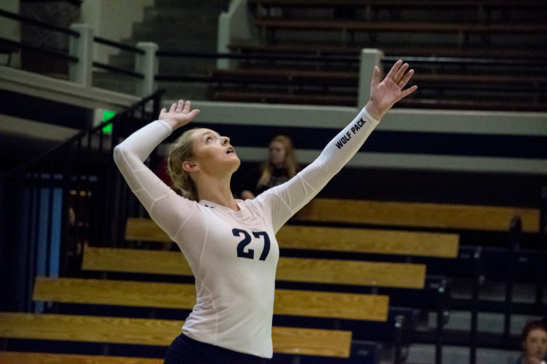 Nevada's 2017 Digs Leader Camille Davey Transferring to UC Irvine