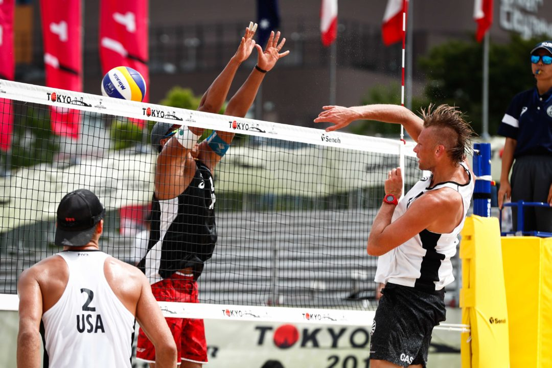 USA's Patterson/Slick Top Pool D at Tokyo Three-Star