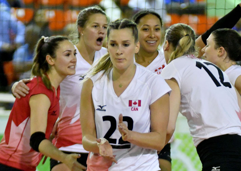Canada Sweeps Dominican Republic to Claim Pan Am Cup Group A Crown