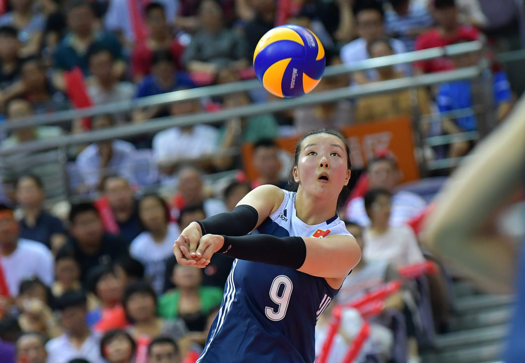 Zhang Changning Returns to Chinese Roster After Ankle Surgery