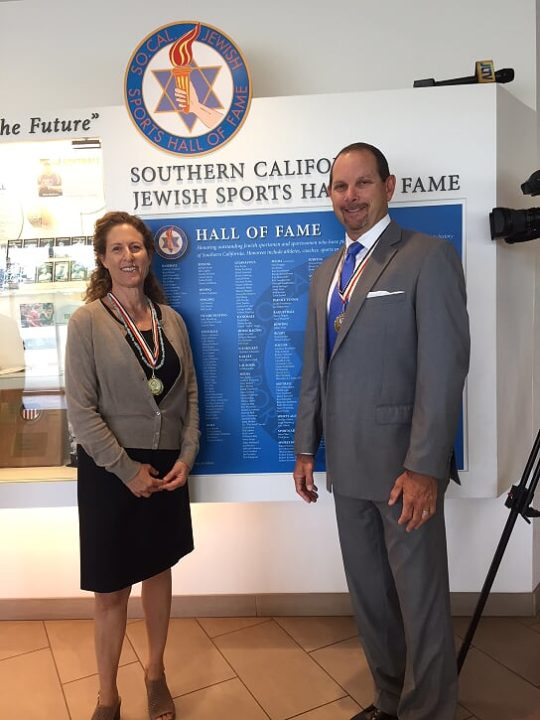 Cohen, Fuller Inducted into So Cal Jewish Sports Hall of Fame