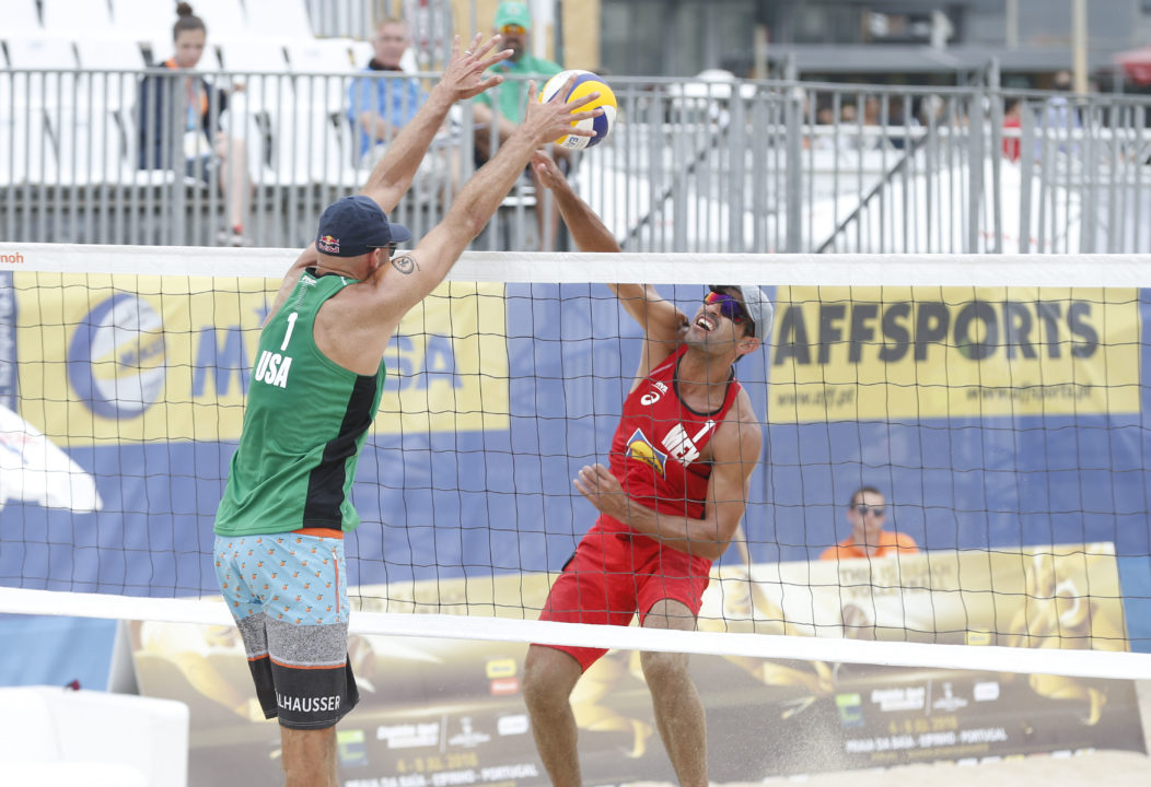 Hughes/Ross Among Espinho Semifinalists, Dalhausser/Lucena Win Pool