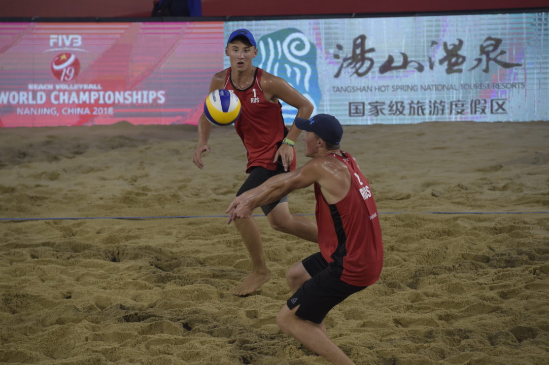 Russia Sweeps Golds at FIVB U19 Beach World Championships