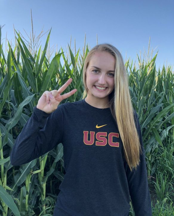 Class of 2021 Setter Elle Glock Commits to USC