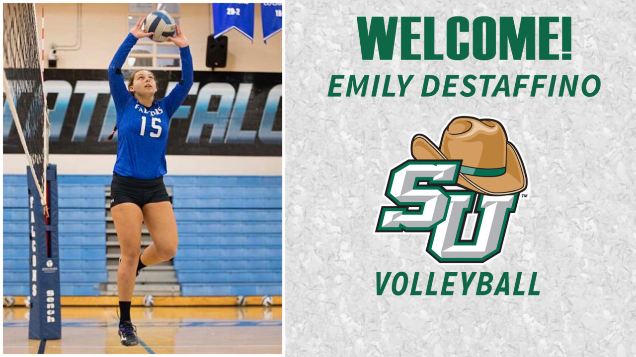 Stetson Adds All-Conference Junior College Setter Emily DeStaffino