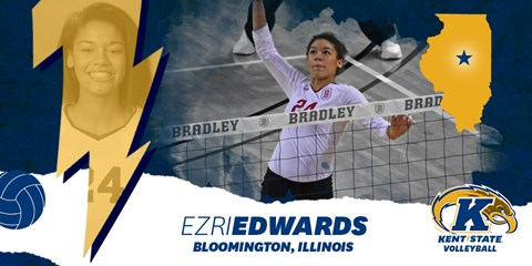 Kent State Tacks on 2nd Transfer in MB Ezri Edwards From Bradley