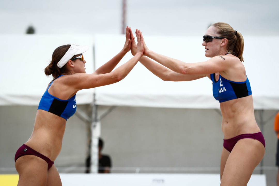Flint/Day Win Pool E in Tokyo, Patterson/Slick On To Quarters