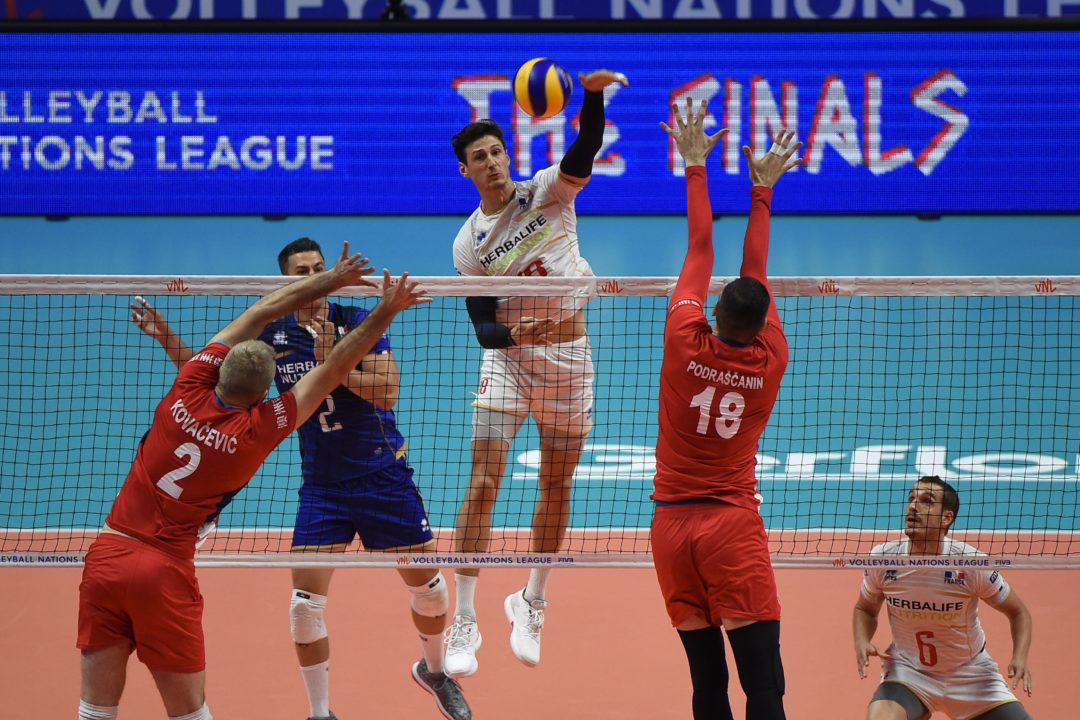 #VNL Final Six Day 3: France & Russia Win Pools with Sweeps of Serbia & USA