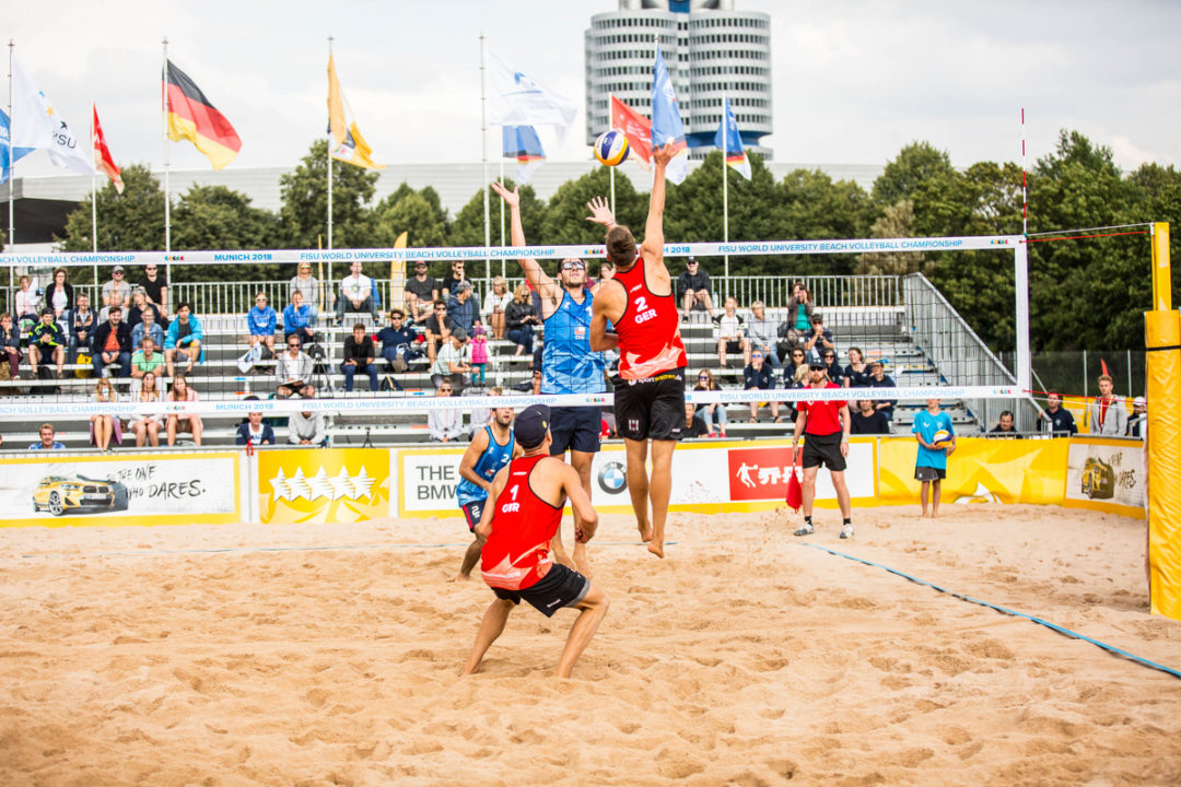 Spain's Jimenez/Rojas, Germany's John/Stadie Pull Upsets at WUBC