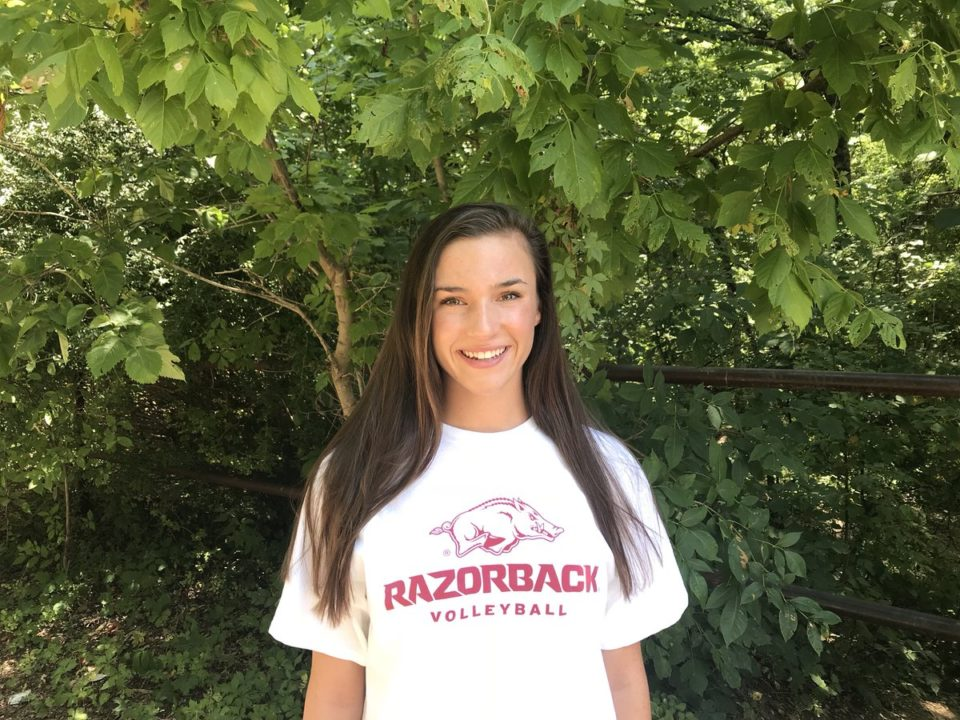 Class of 2020 OH Hailey Schneider Commits to Arkansas
