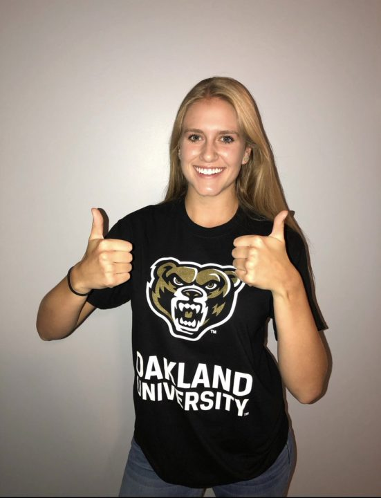 Oakland Lands Commitment From 2019 OH/DS Haley Brown