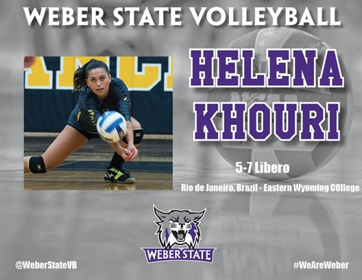 All-Region DS/L Helena Khouri of Eastern Wyoming Headed to Weber State