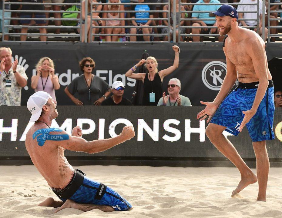 Top Seeds Hyden/Brunner, Hughes/Ross Win AVP Hermosa Beach