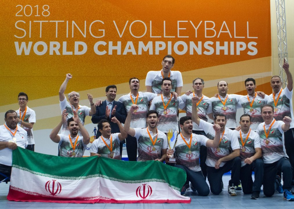 Russia & Iran Win 2018 Sitting Volleyball World Championships