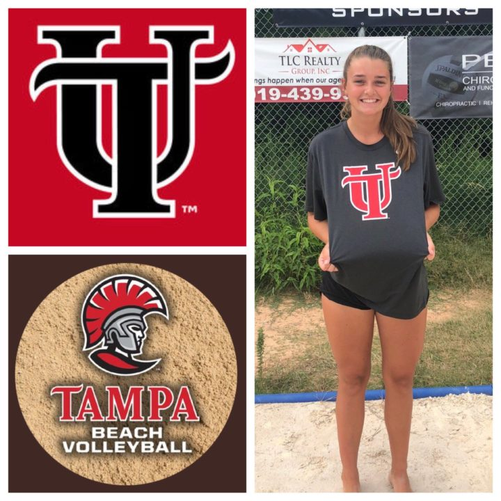 University of Tampa Beach Lands 2019 Commit Jenna Magner