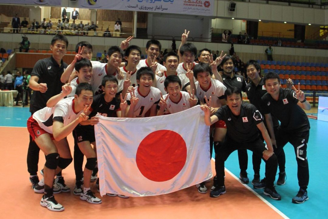Powerhouse Japan Takes the Asian U18 Volleyball Championship