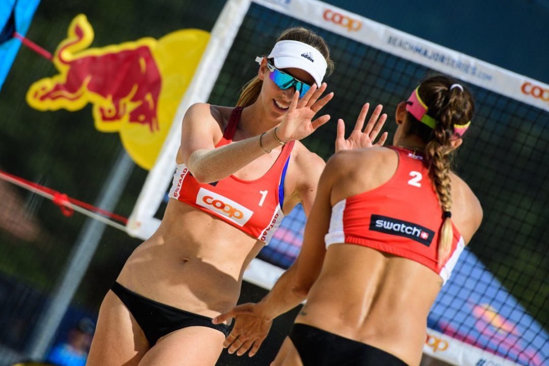 Larsen/Stockman Win Three Matches for Spot in Gstaad Main Draw