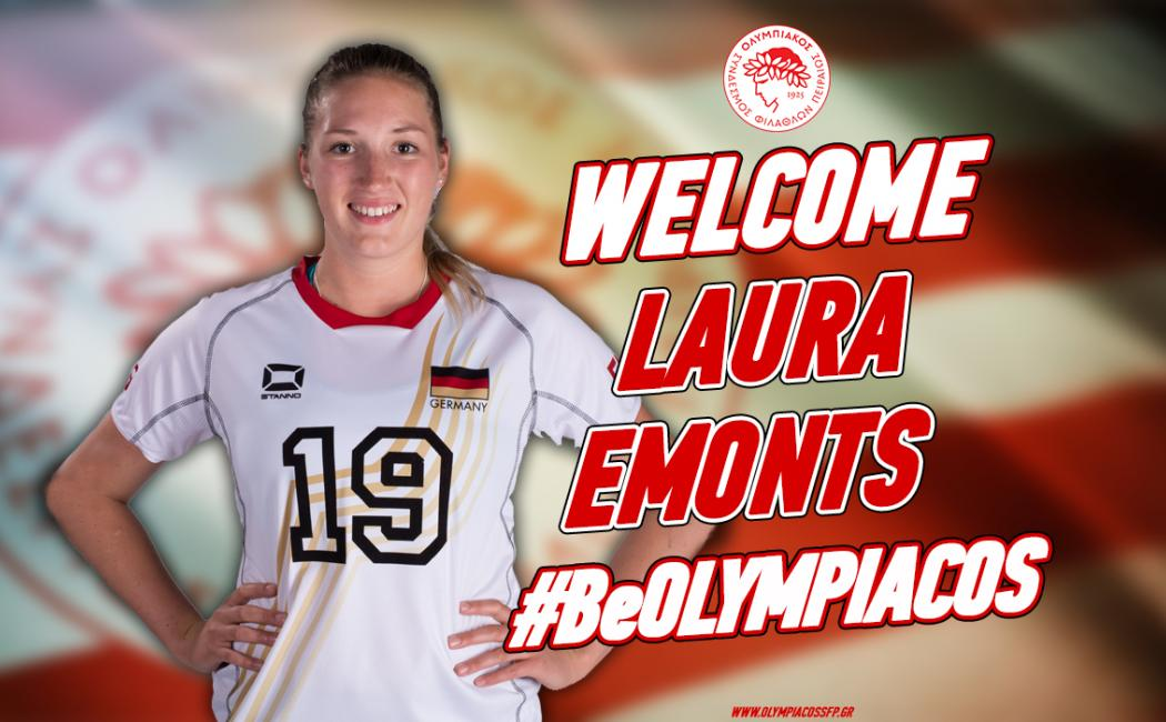 Olympiacos Signs German National Teamer Laura Emonts