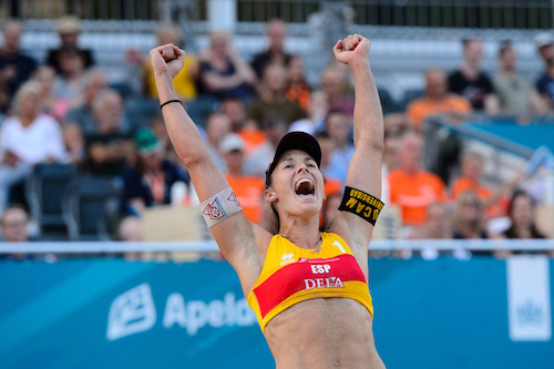 Women's CEV Beach Race Down to Eight Teams; Men's Pool Titles Decided