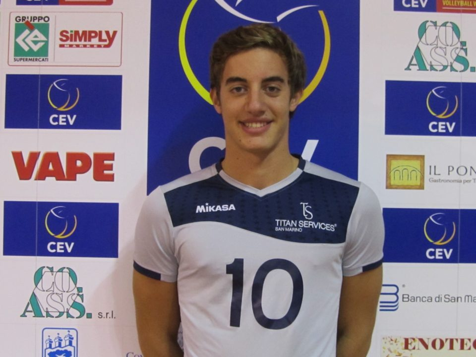 Modena Signs Lorenzo Benvenuti, First Sammarinese To Ever Play In A1