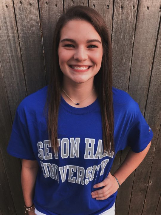 Class of 2019 MB/RS/OH MacKenzie Huntley Commits to Seton Hall