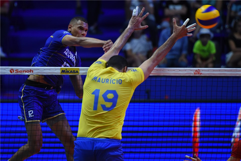 Brazil's Mauricio Borges Out of VNL with Torn ACL