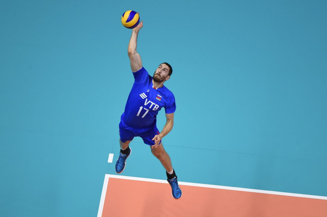 FIVB Names Maxim Mikhaylov MVP of #VNL Final 6
