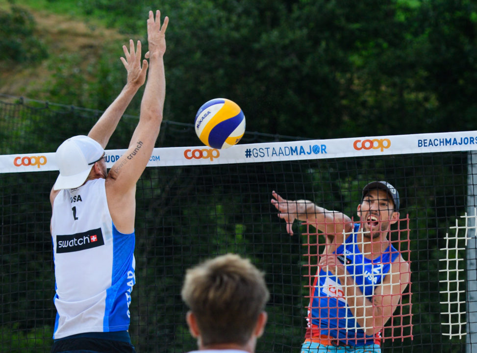 Top Two Men's Seeds Are Out in Gstaad, Dalhausser/Lucena Move On