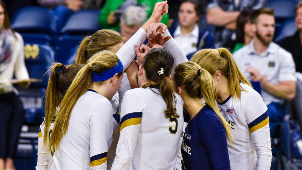 Notre Dame Volleyball Announces 2018-2019 Coaching Staff Updates