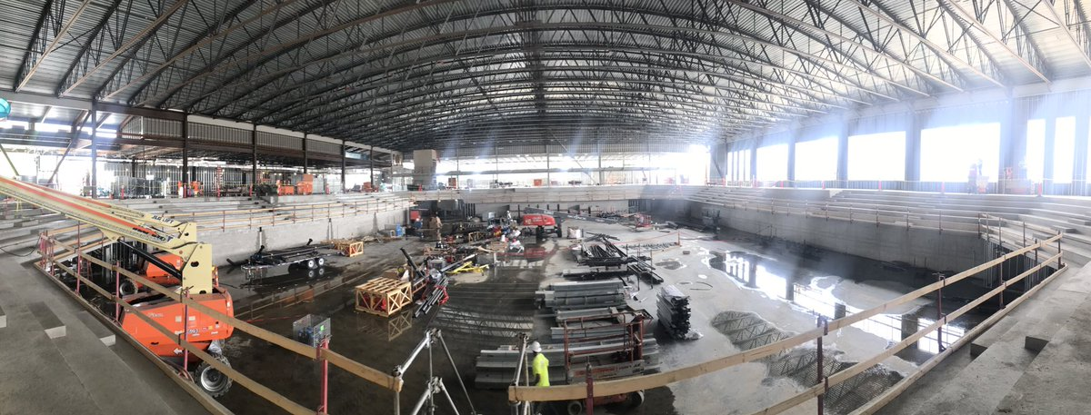 Update Pictures from Ohio State Volleyball's New Covelli Arena