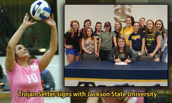 Former Trinidad State Setter Headed to Jackson State for 2018
