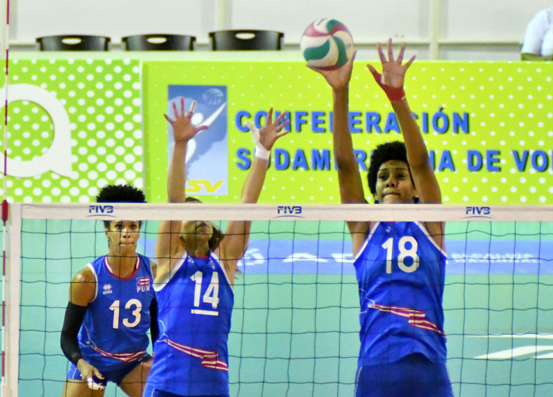 NORCECA Women's Pan-Am Cup: Puerto Rico & Colombia Keep Top 5 Finish Hopes Alive