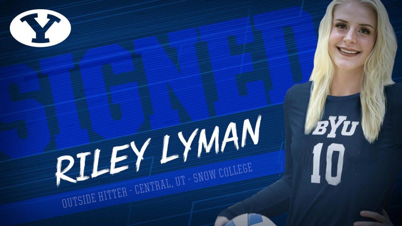 BYU Tacks on AVCA Two-Year College First-Team All-American Riley Lyman